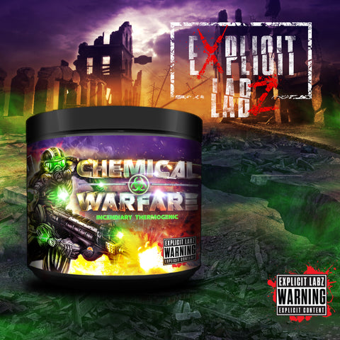 Chemical Warfare™ | 180 Capsules (PRE-ORDER, Ships 2/16)