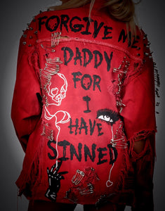 FORGIVE ME DADDY JACKET