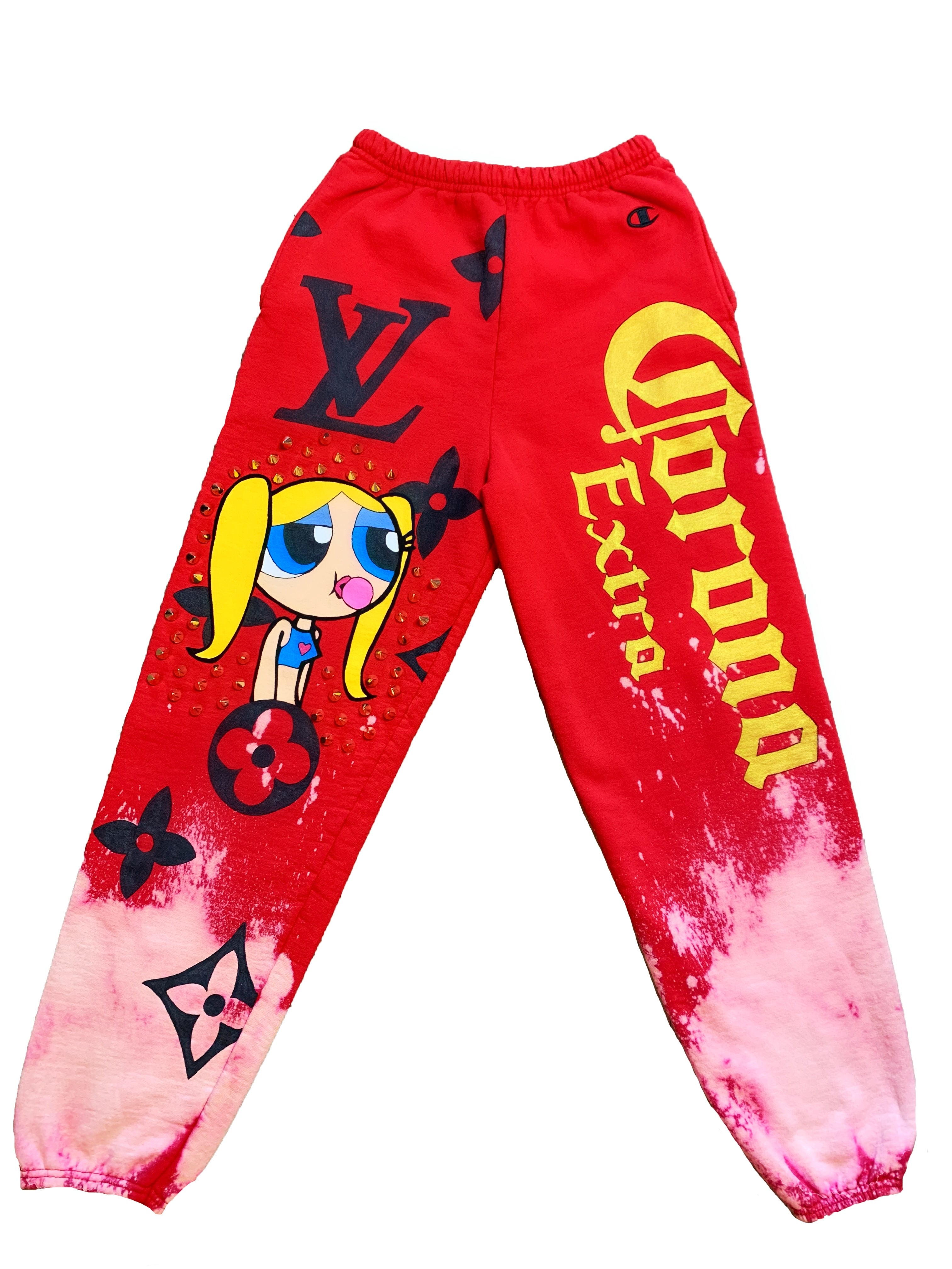 BUBBLEGUM CORONA SWEATPANTS
