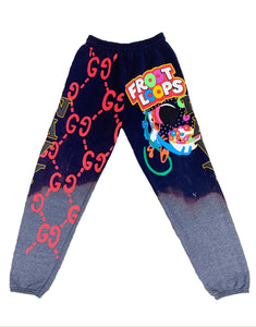 NAVY LOOPS SWEATPANTS
