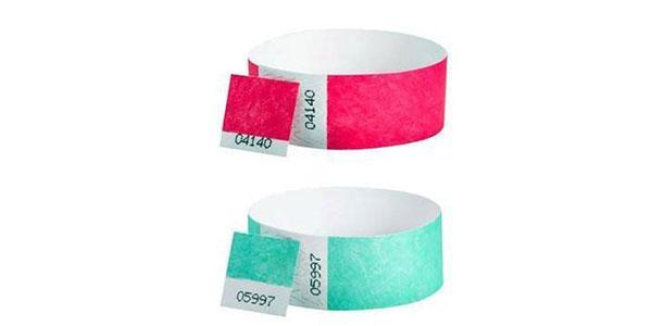 Dual Number Wristbands