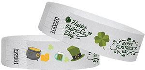 Wristbands for St Patrick Day Events!