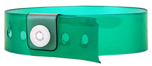 Minty Green Vinyl Wristbands