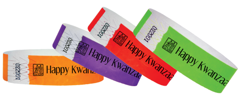 Wristbands For Holiday Events!