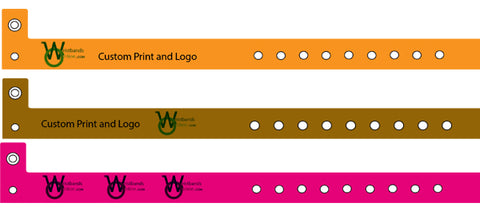 Vinyl and Plastic Wristbands for Parks.