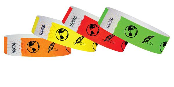 "3/4""  Tyvek History Museum Wristbands"