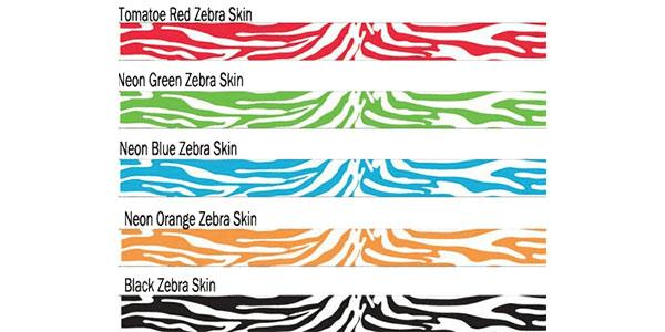 3/4 Tyvek Wristband Design Zebra Sale