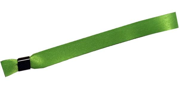 Green Cloth Wristbands Solid Color No Print