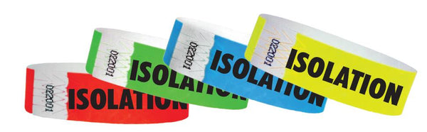 ISOLATION Wristbands