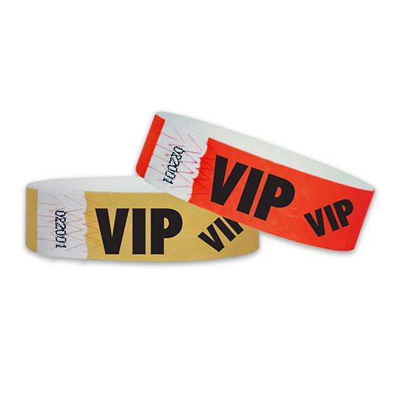 "3/4"" VIP Tyvek Wristbands Sale"