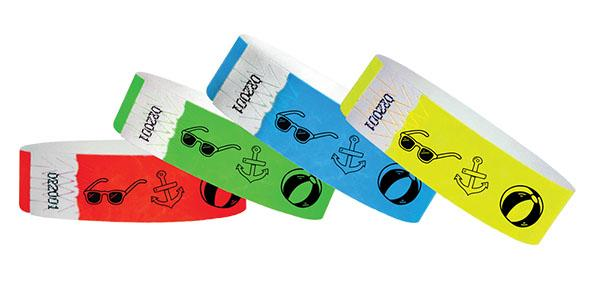 3/4 Summer Time  Wristbands