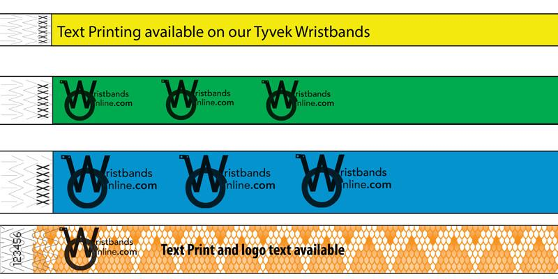 It's just a photo of Delicate Printable Tyvek Wristbands