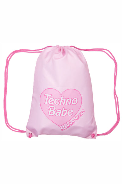 Techno Babe [Pink] Backpacks