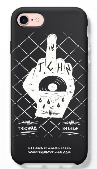 Techno Rebels phone case