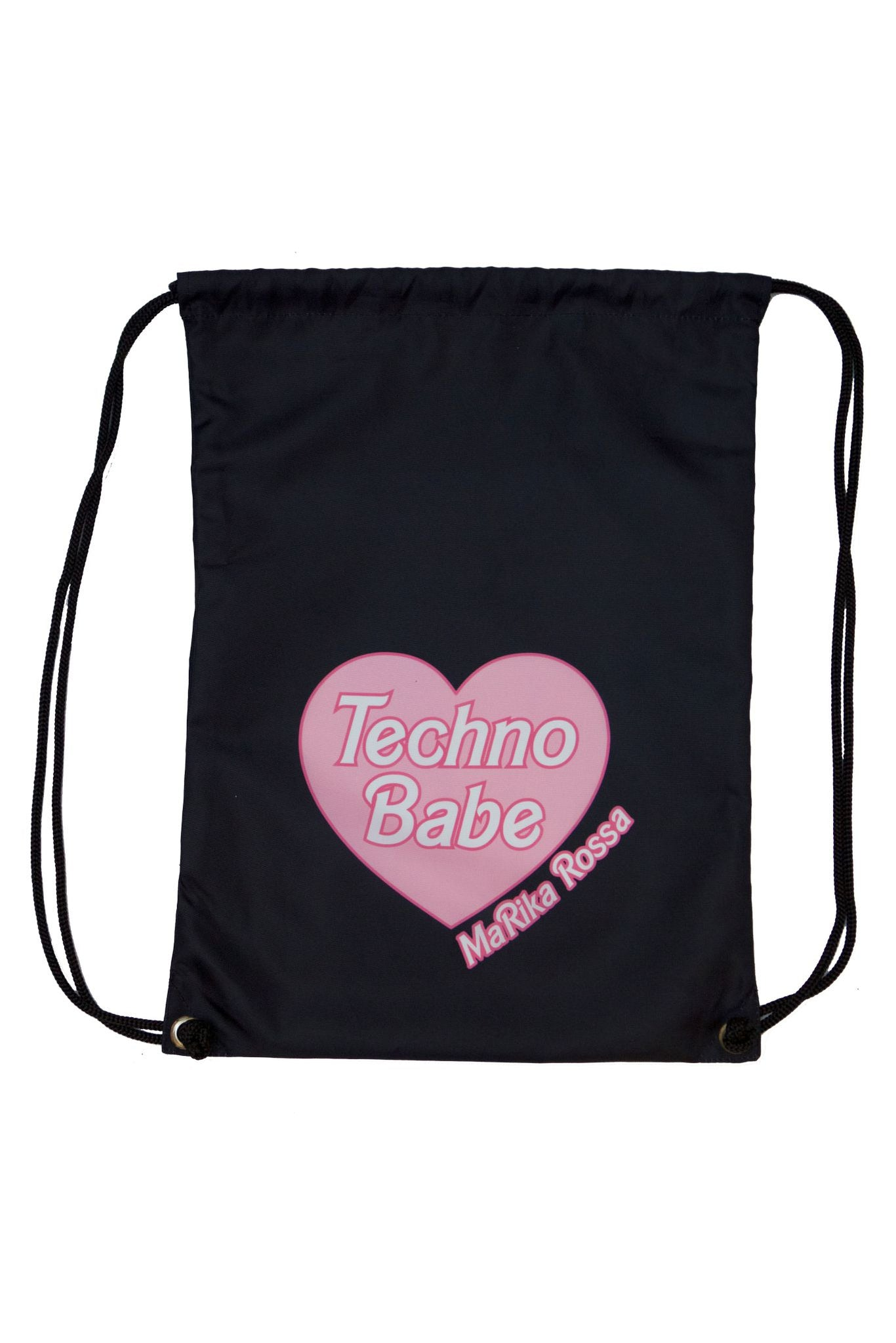 Techno Babe [Black] Backpacks