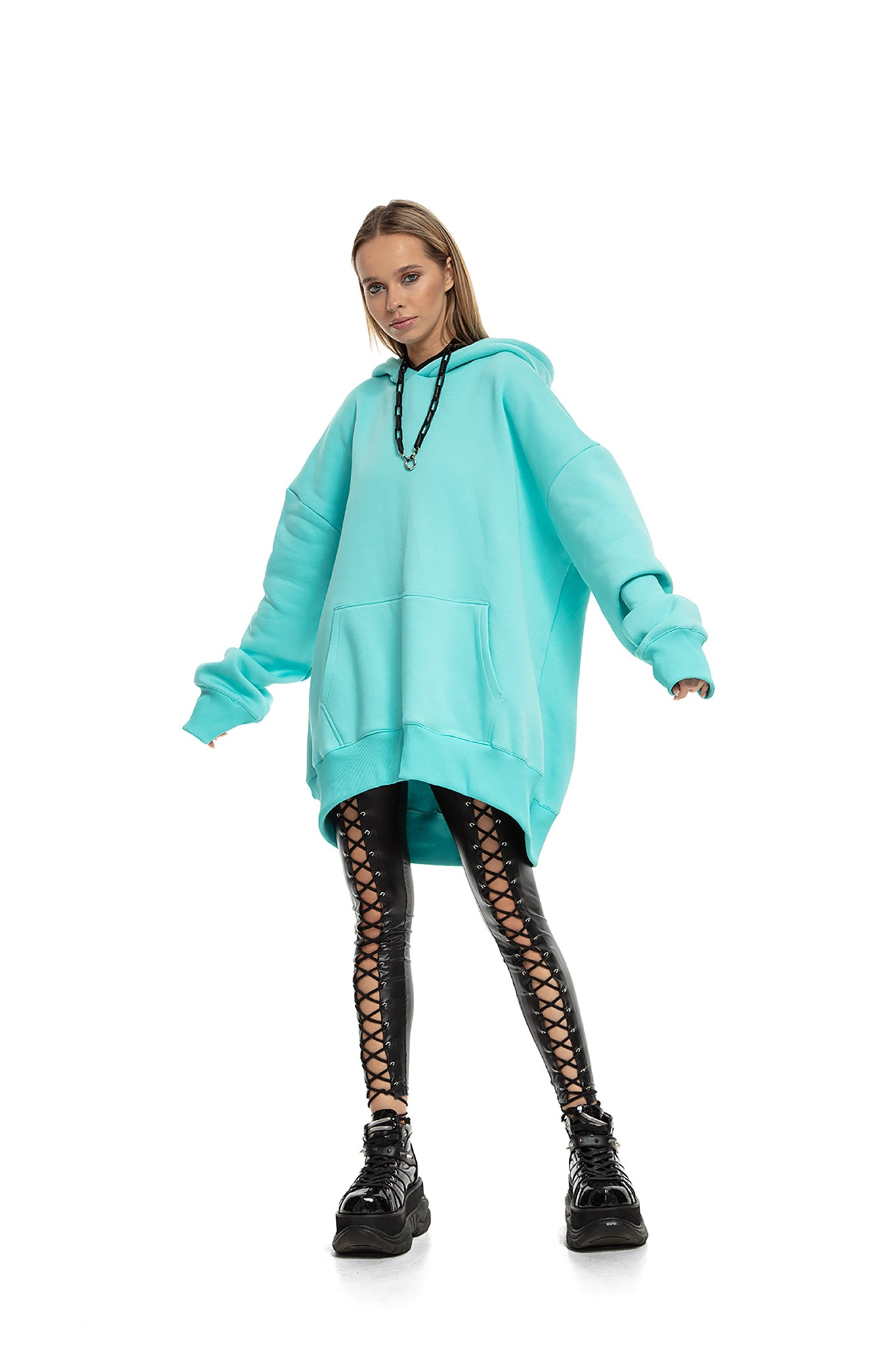 Super Oversized [Mint] Hoodie