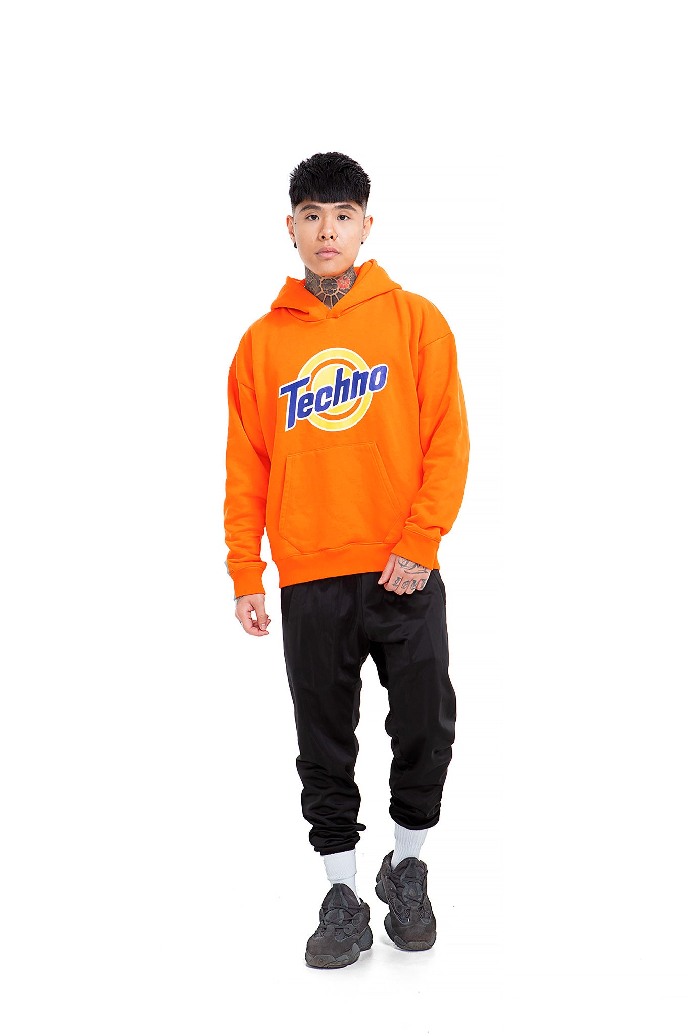 Techno Powder Unisex Regular fit Hoodie