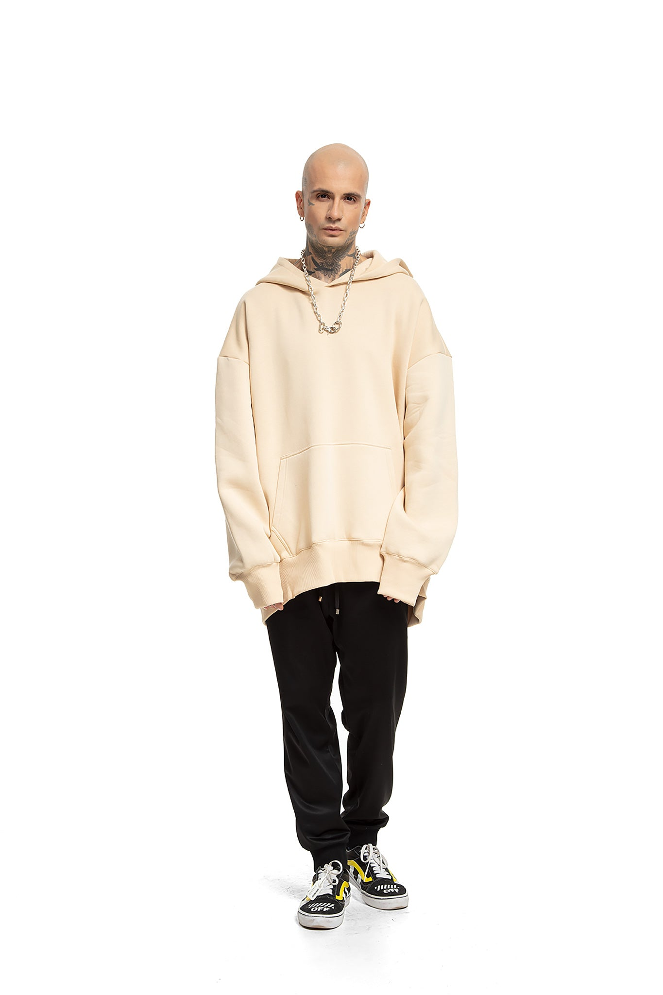 Super Oversized [Beige] Sweatshirts