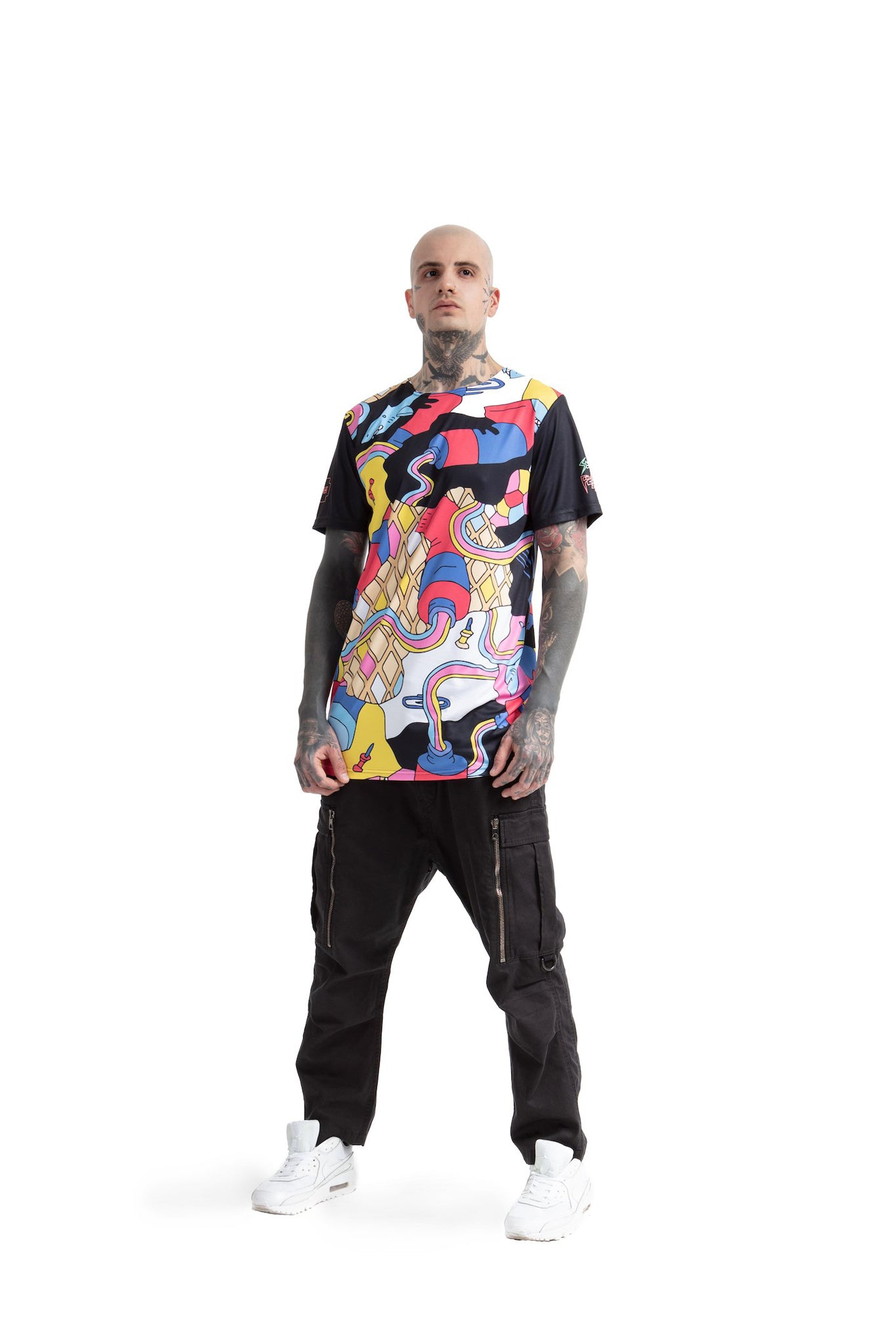Full of paint - oversized T-shirt