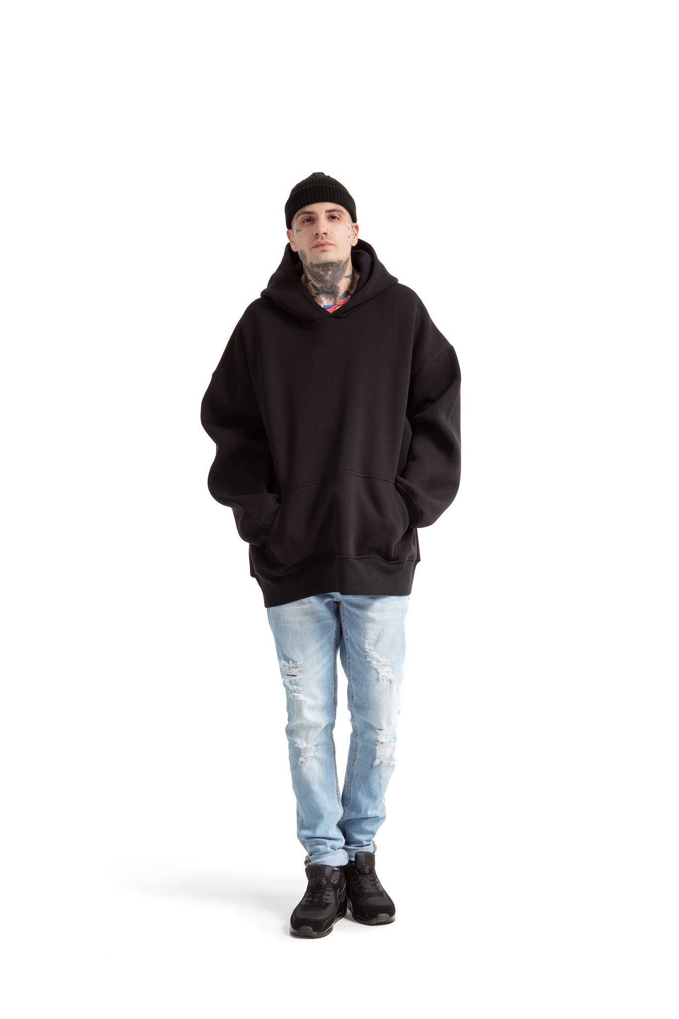 Super Oversized [Black] Sweatshirts