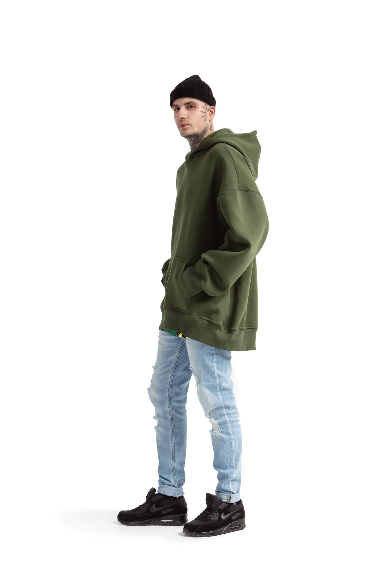 Super Oversized [Khaki] Sweatshirts