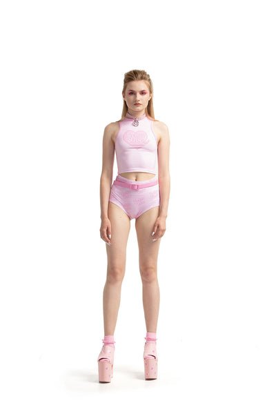Techno Babe [Pink] - hot pants