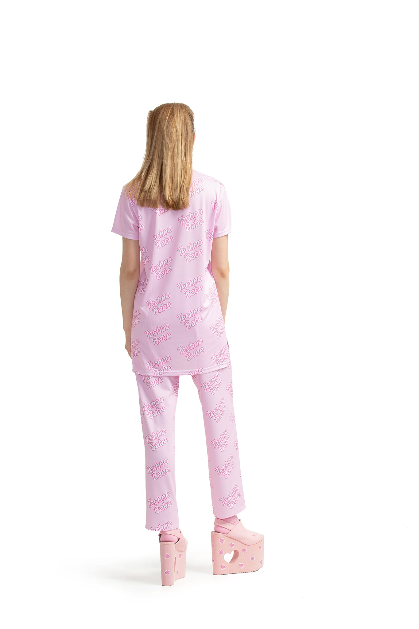 Techno Babe [Pink] - Ankle-length trousers