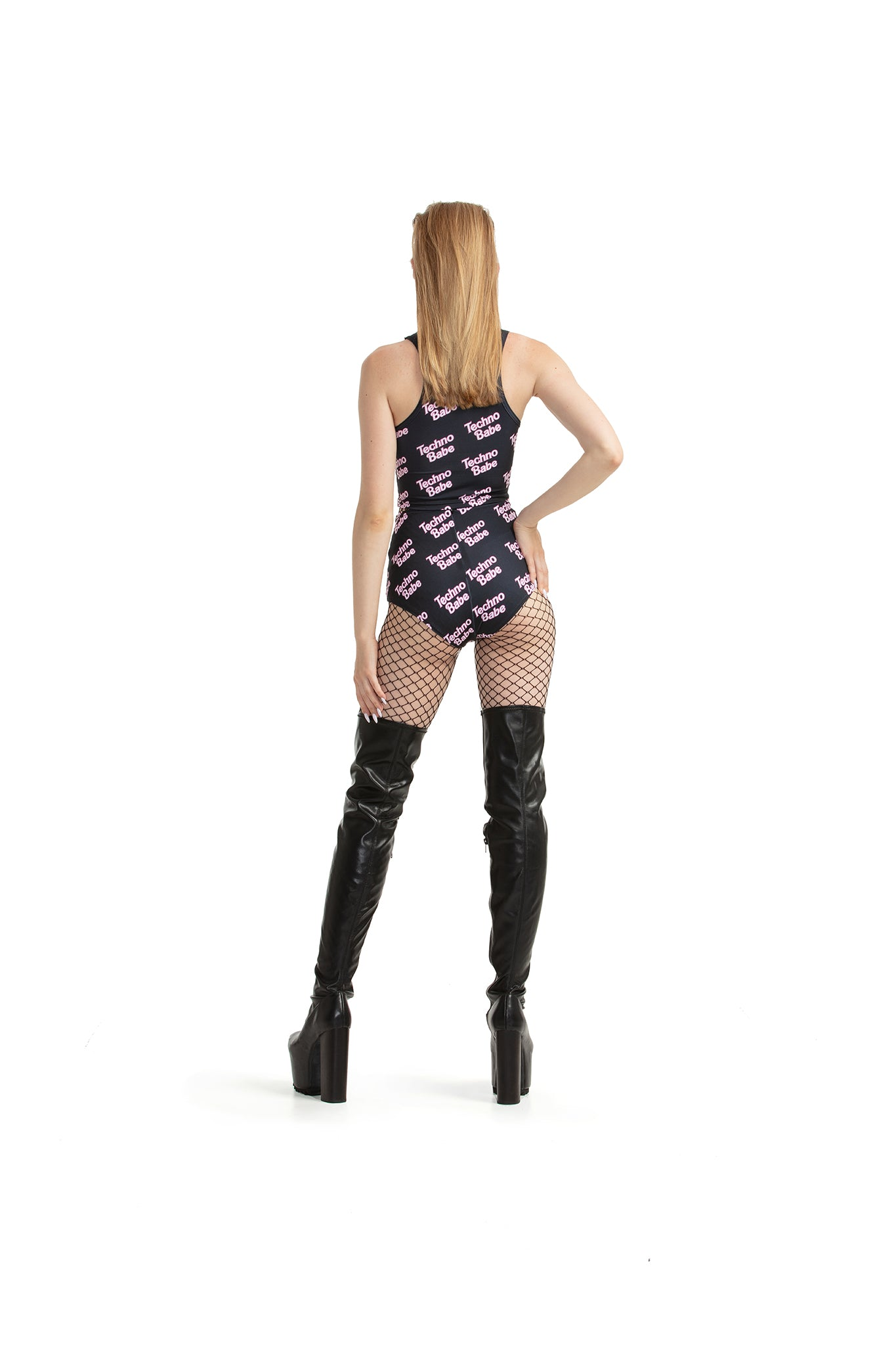 Techno Babe [Black] - hot pants