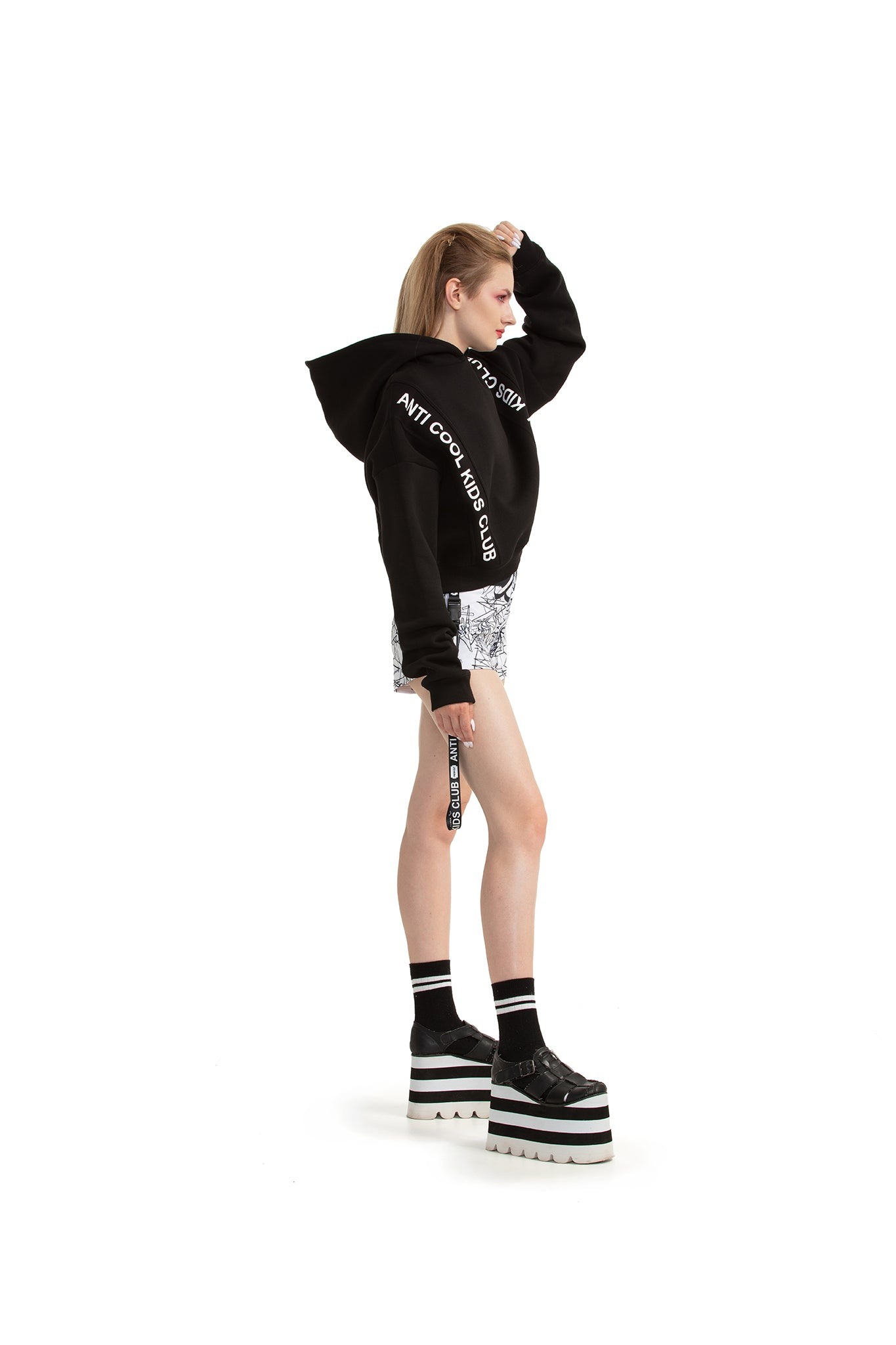 Anti Cool Kids Club [Black] sweatshirt