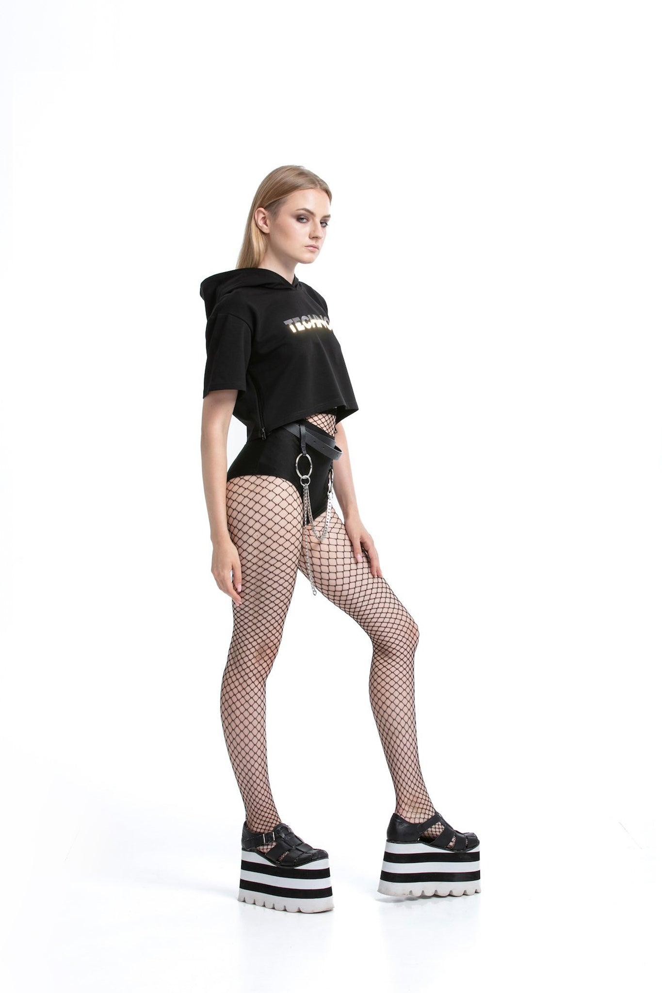 Black - hot pants