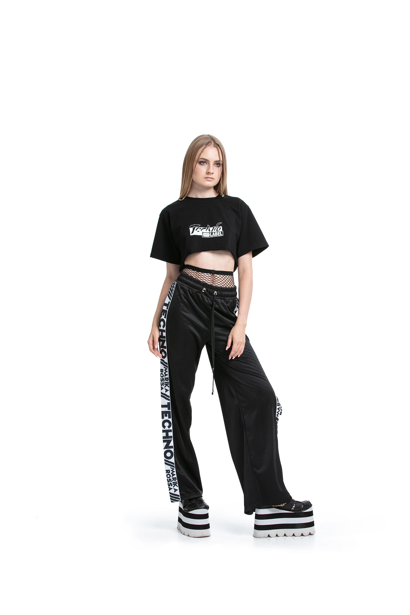 Marika Rossa TECHNO - Side-snapped trousers