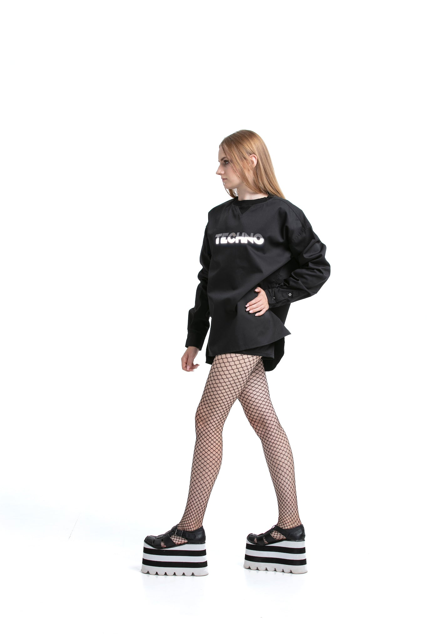 Reflective Techno - Smart Sweatshirt