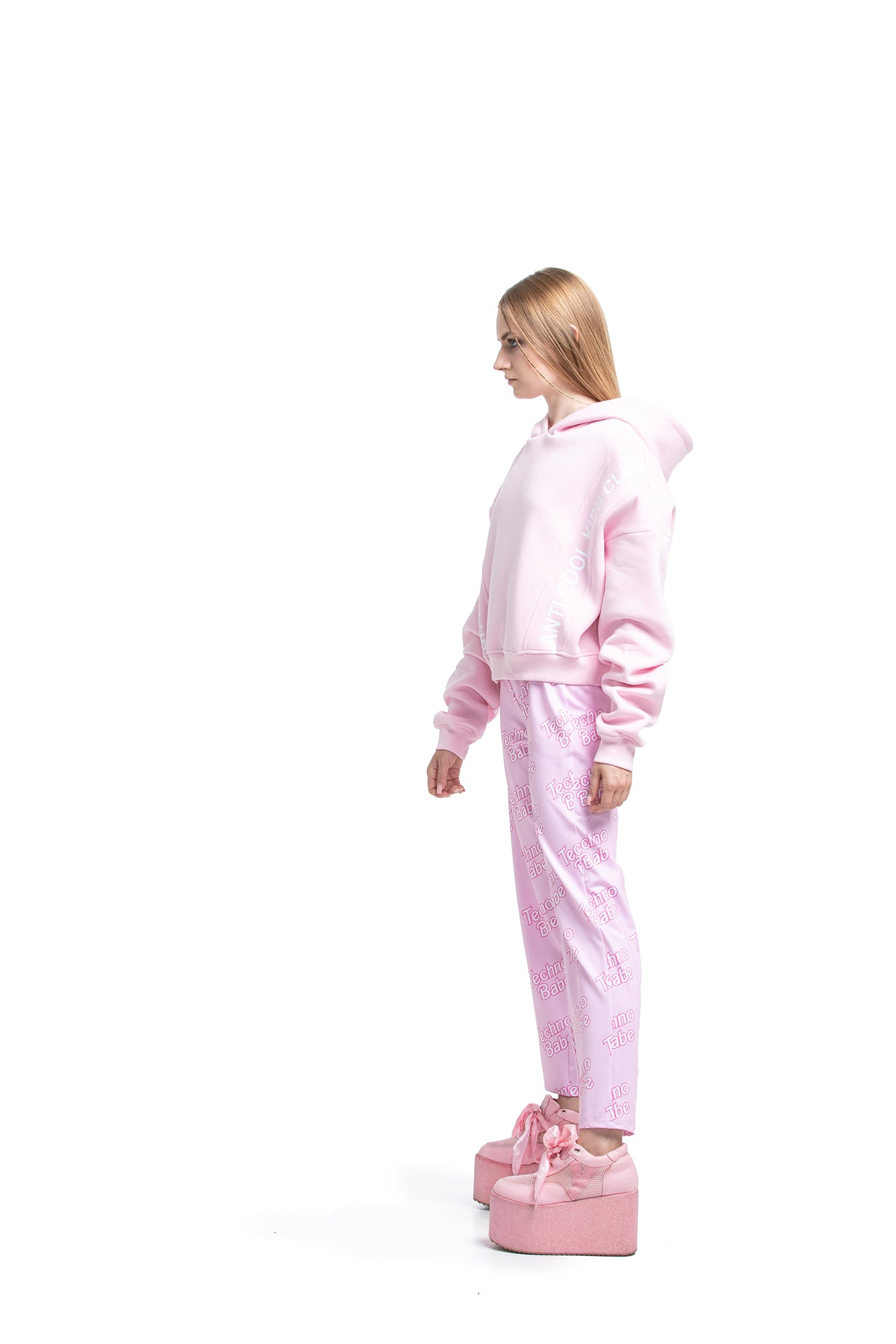 Anti Cool Kids Club [Pink] sweatshirt