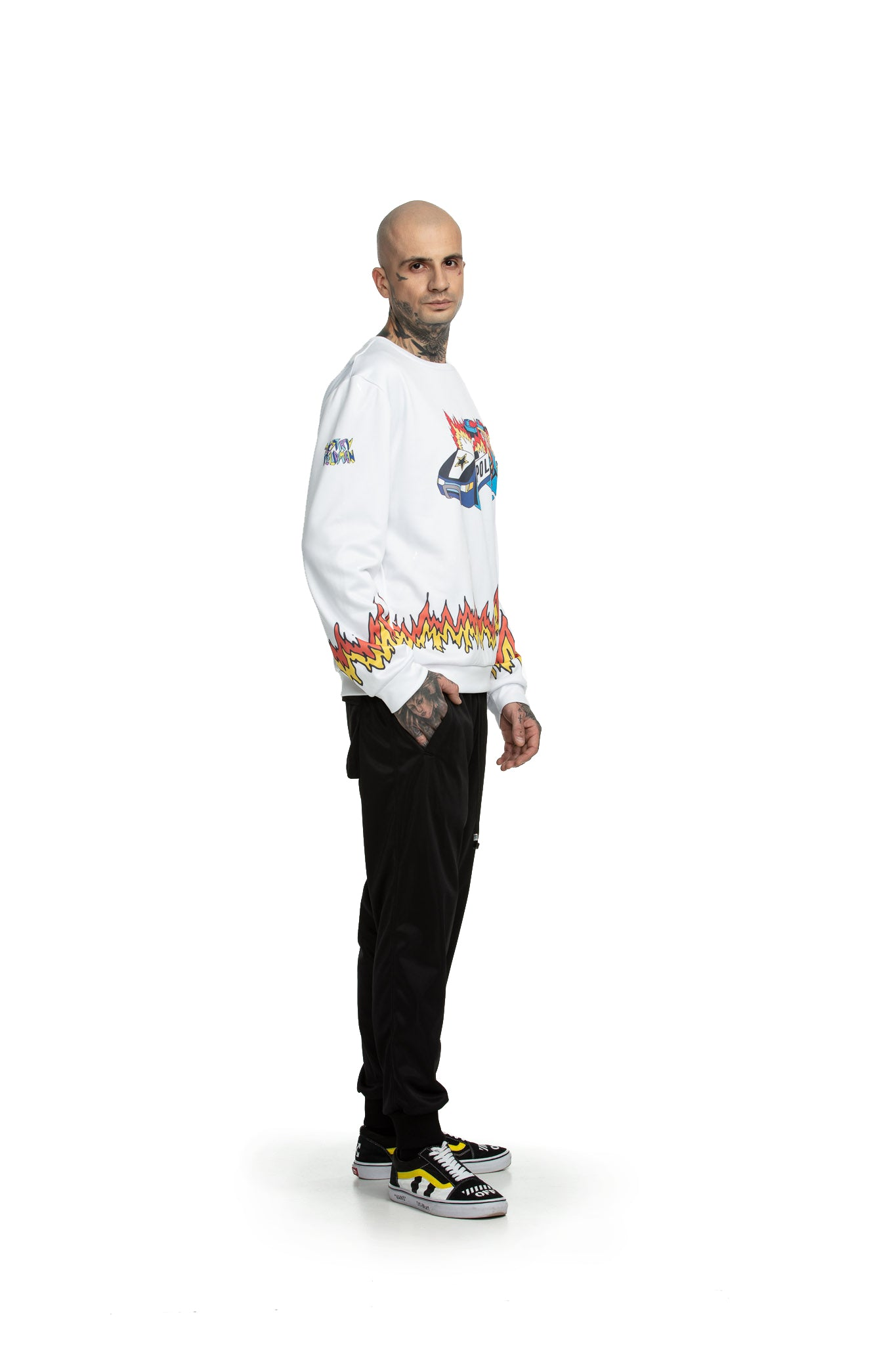 FRESH CUT police [white] - Sweatshirts
