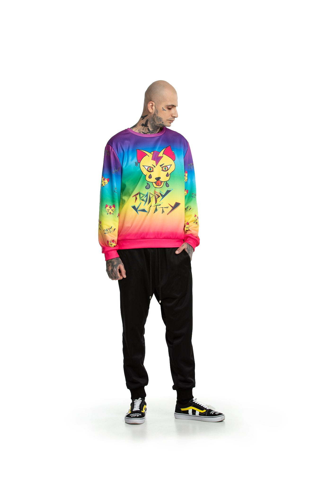 Trippy Kitty - Sweatshirts
