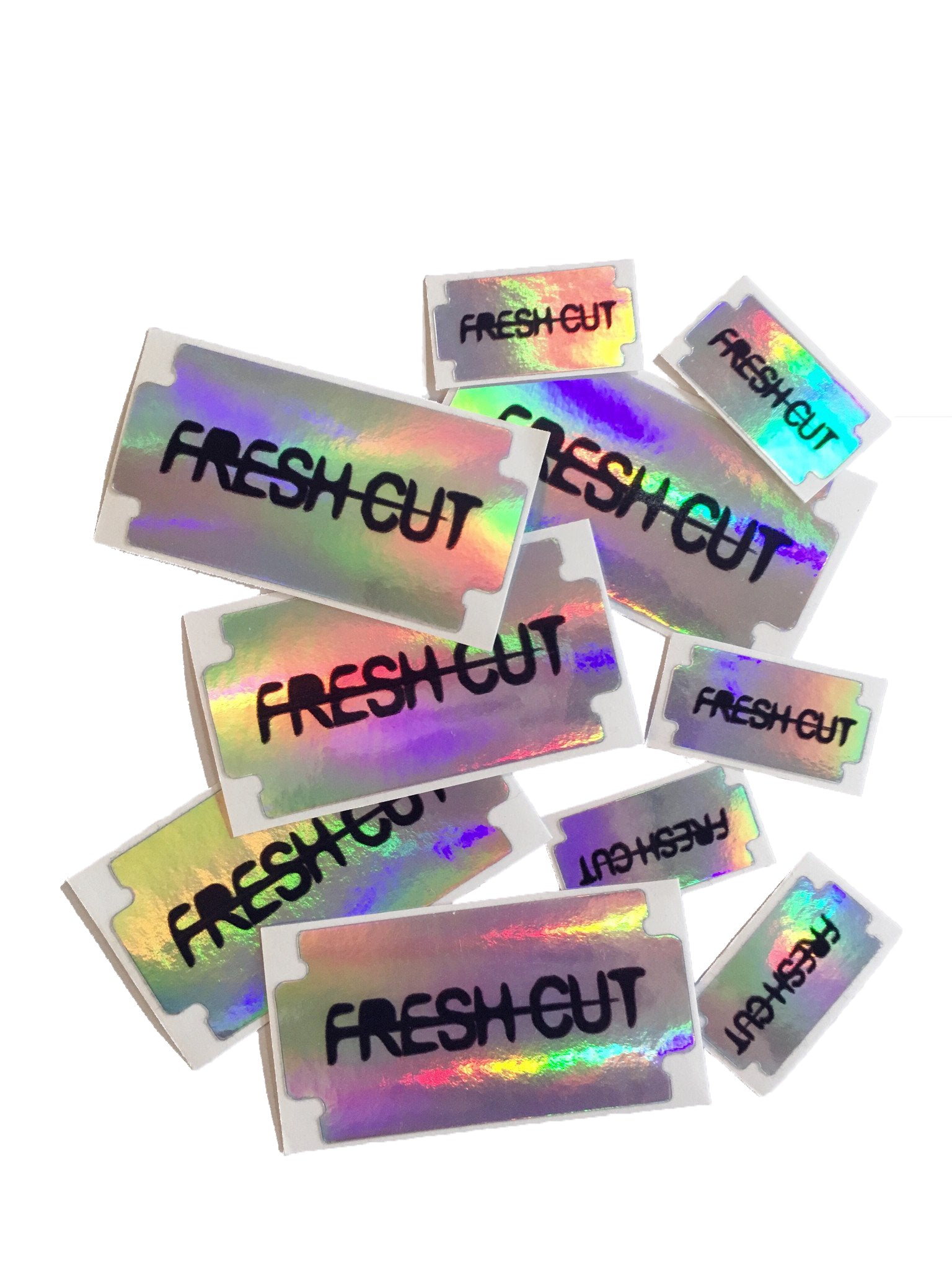A set of Holographic Stickers