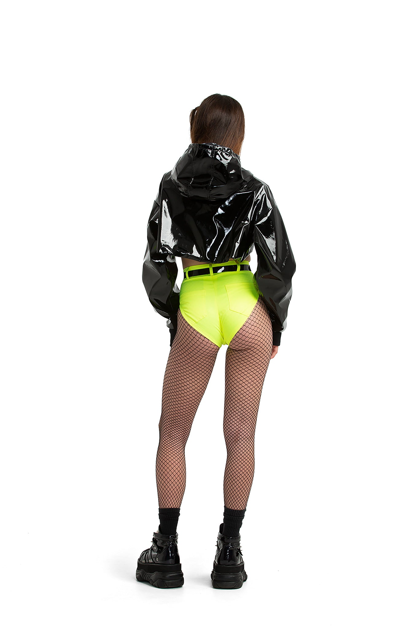 High Cut shorts [neon yellow]