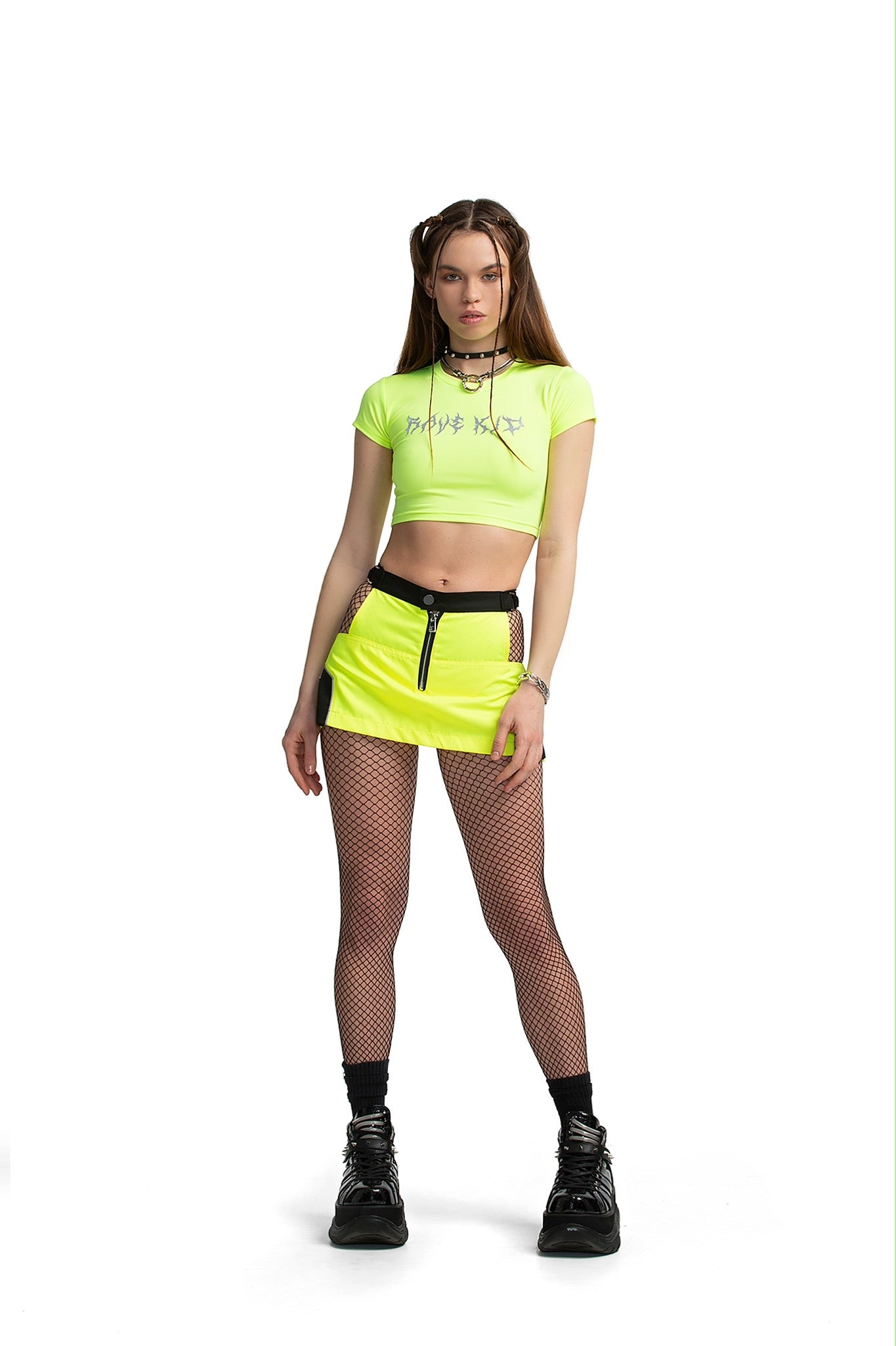 Rave Kid Slim top [neon yellow]
