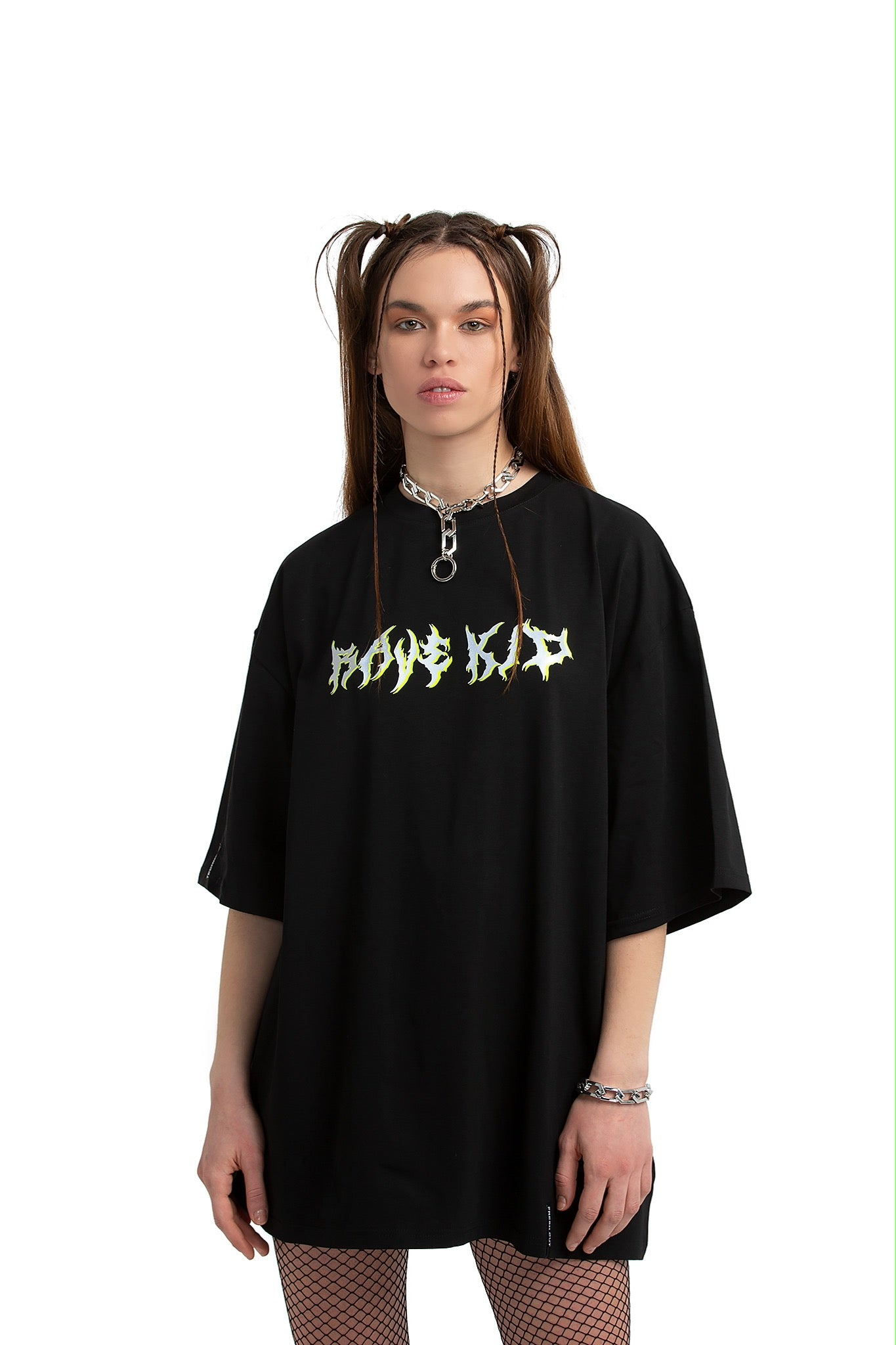 Rave Kid Unisex oversized T-shirt [black]