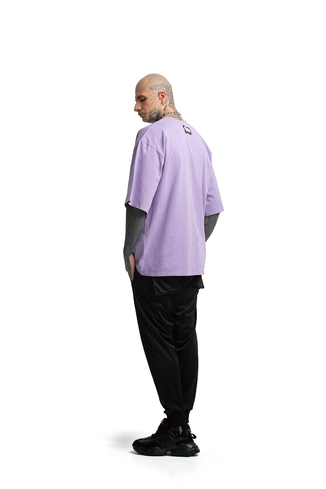 Techno Dragon oversized unisex T-shirt [purple]