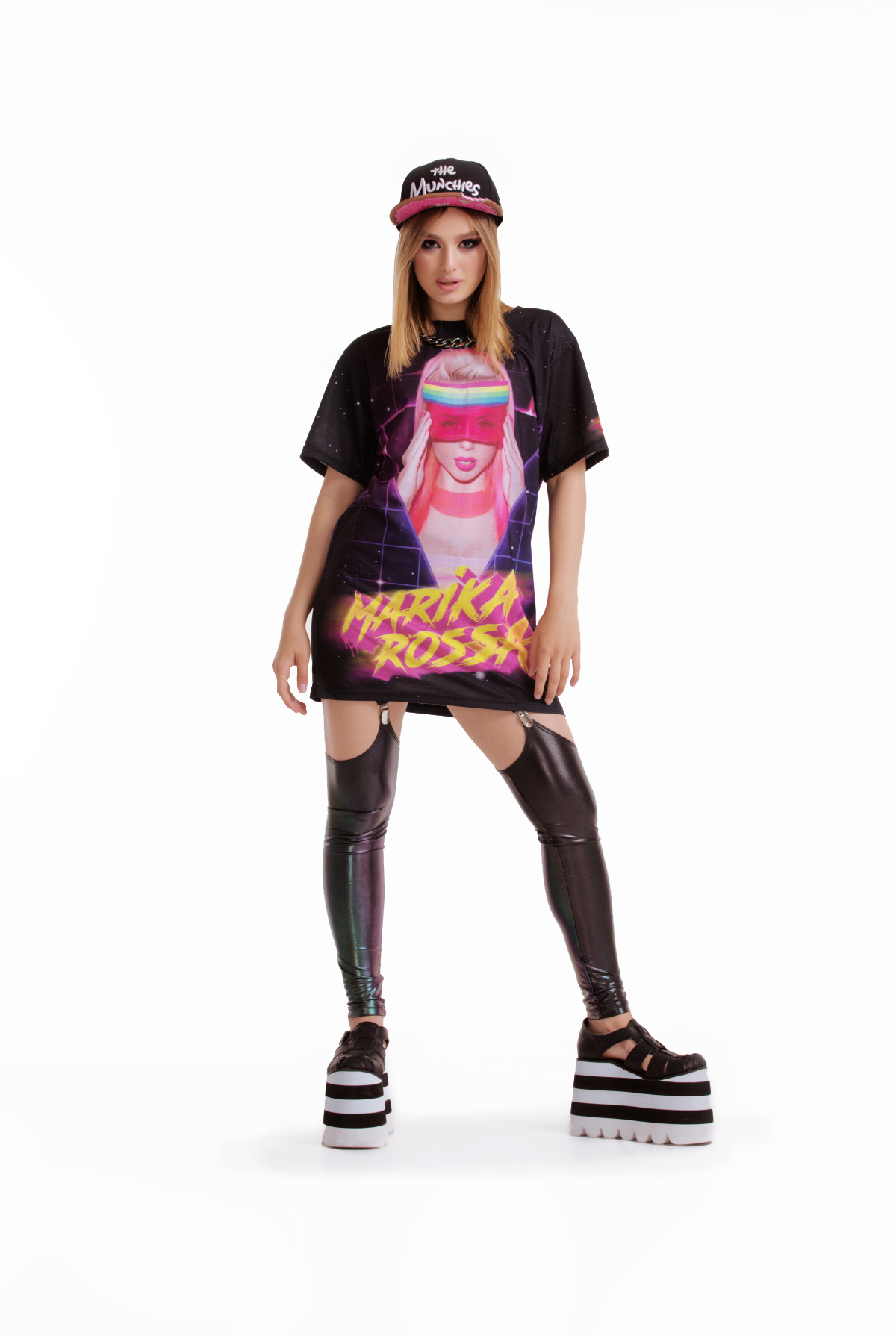 Oversized T-shirt  Marika Rossa + Festival Backpacks