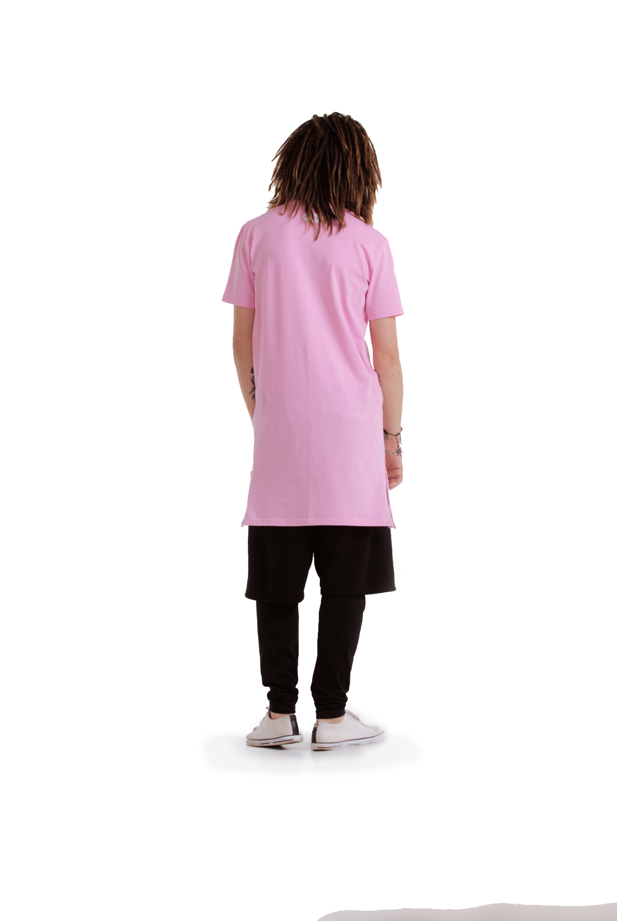 Techno Being T-shirt [Pink]
