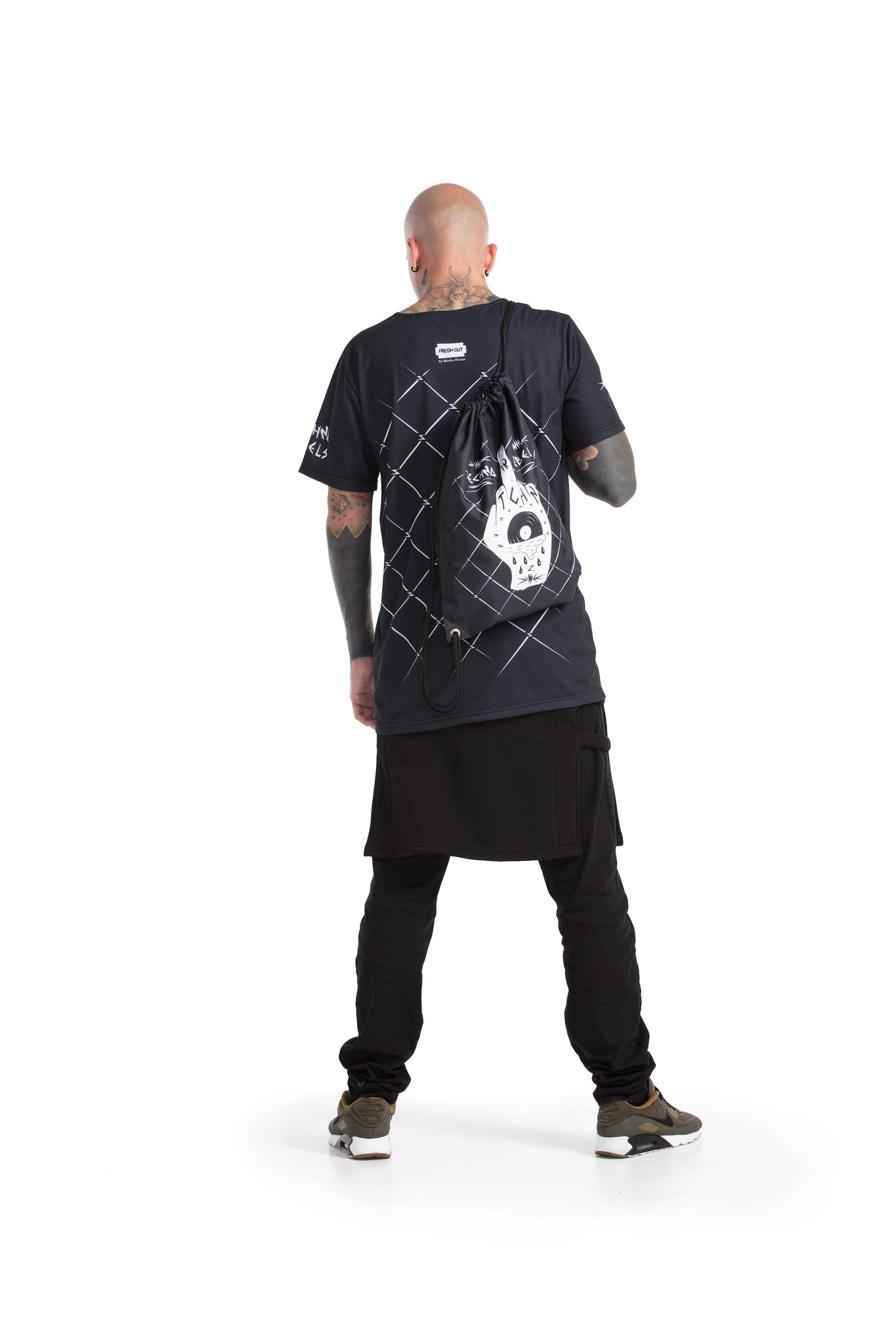 Techno Rebels - oversized T-shirt