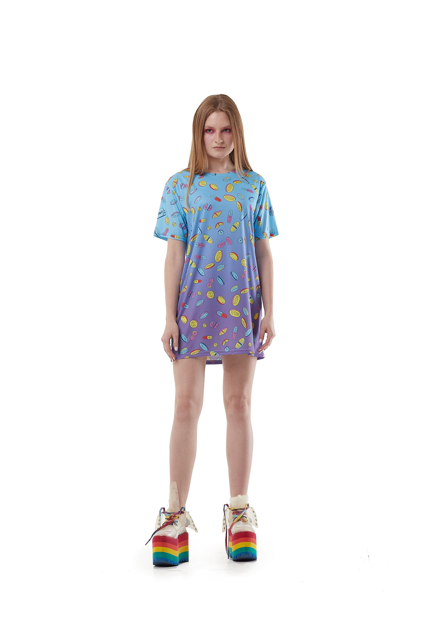 Pills Purple melt - oversized T-shirt