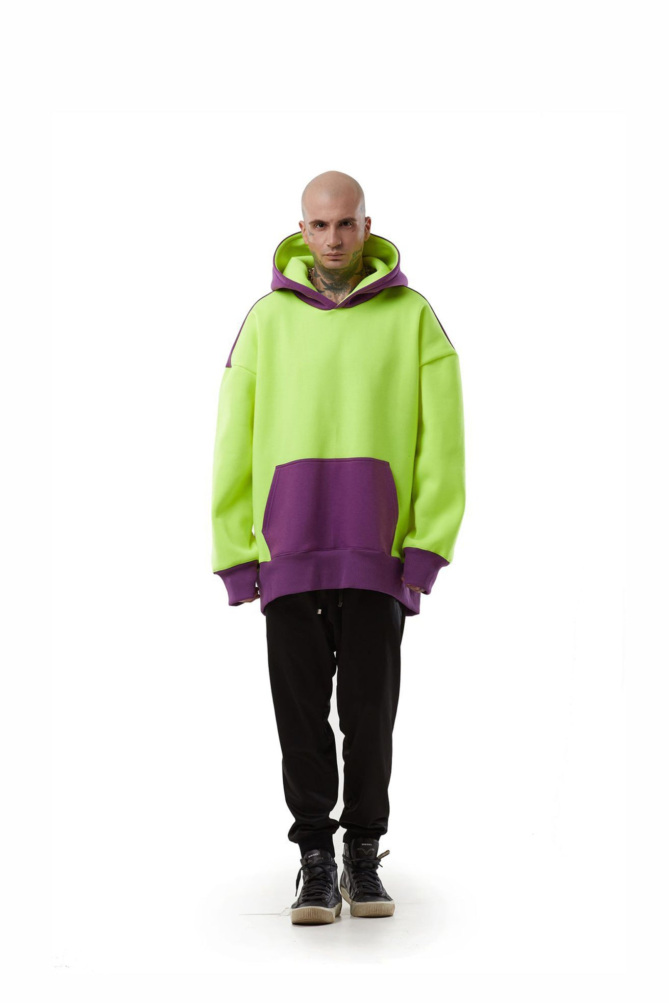 Super oversized [Neon yellow] Hoodie