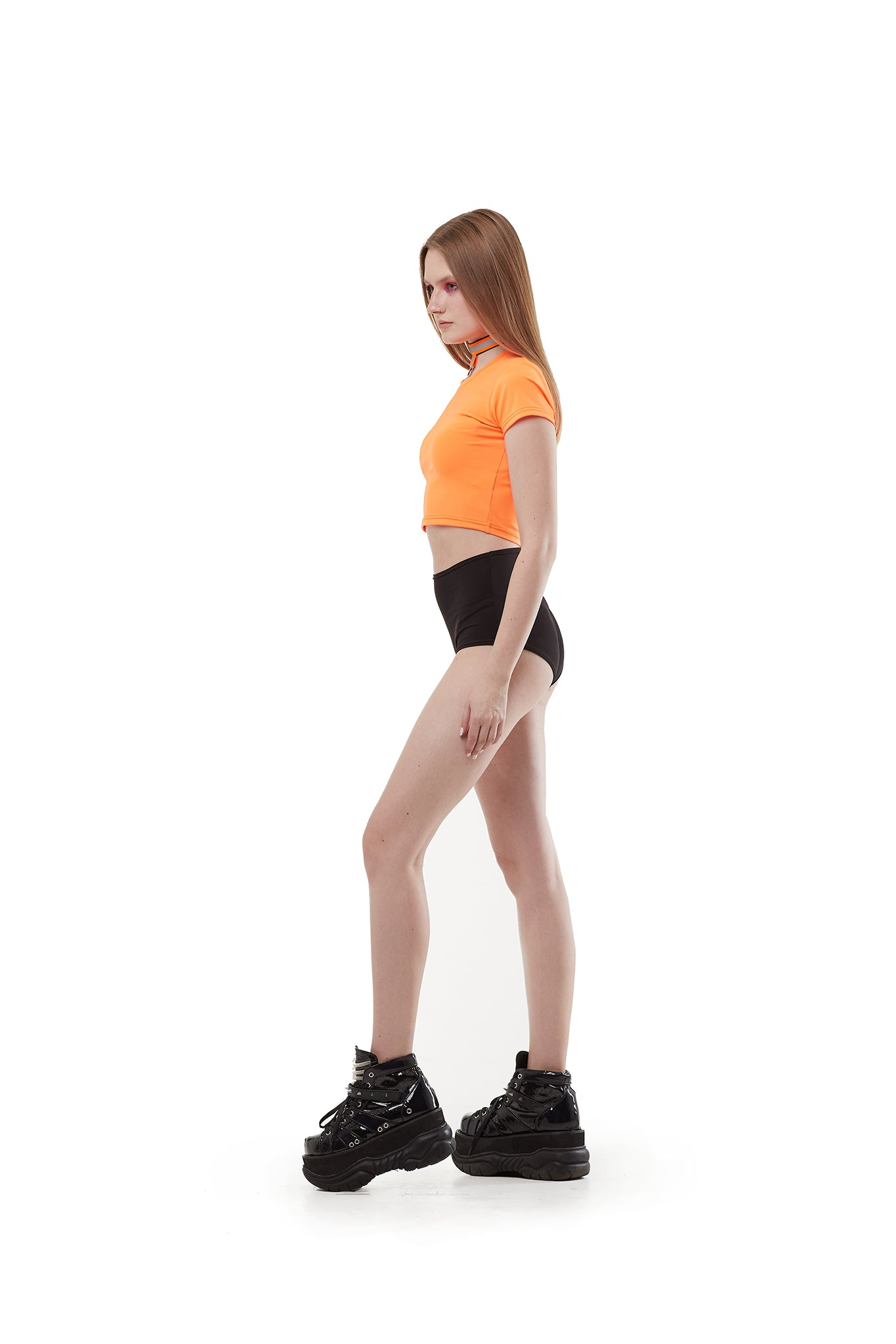 Basic - Orange - slim top