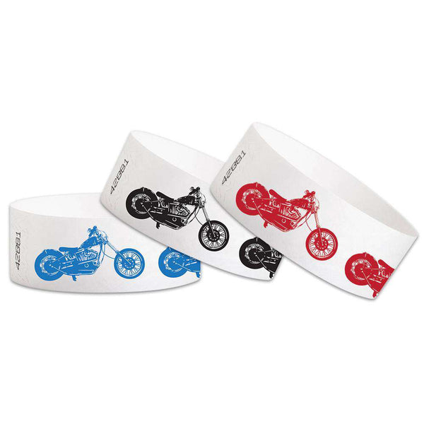 "1""  Tyvek Chopper Wristbands"