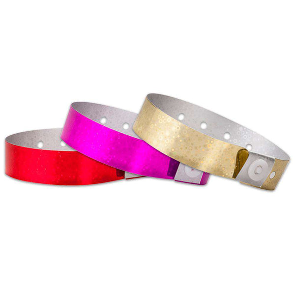 Plastic Hologram Wristbands