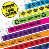 3/4 Tyvek Wristband Holiday/Occasion Style