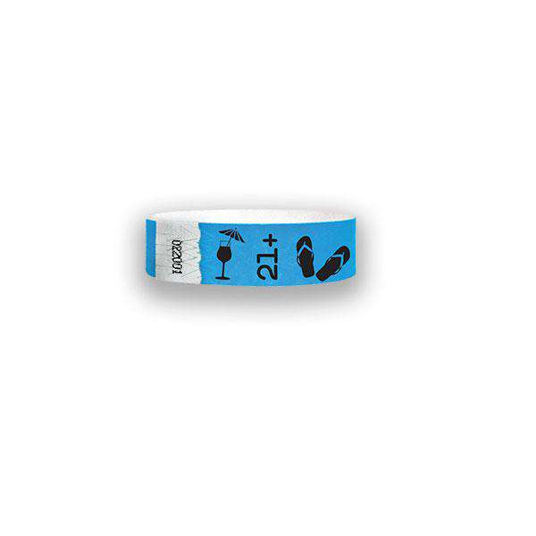 3/4 Spring Break  Tyvek Wristbands